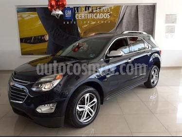 Chevrolet Equinox 5P PREMIER L4/2.4 AUT usado (2017) color Azul Marino precio $345,900