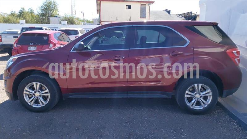 Chevrolet Equinox LT L4/2.4 AUT usado (2016) color Rojo precio $230,000