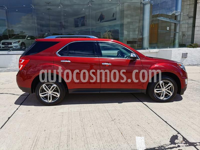 Chevrolet Equinox LTZ L4/2.4 AUT usado (2016) color Rojo precio $275,000