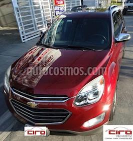 Chevrolet Equinox Premier Plus usado (2017) color Rojo precio $260,000