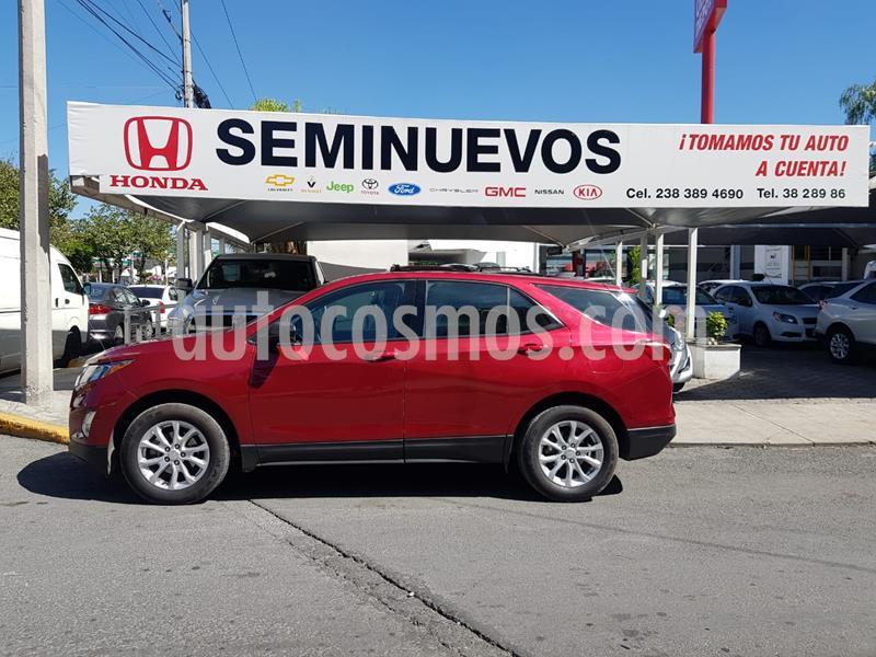 Chevrolet Equinox LS usado (2018) color Rojo precio $297,000