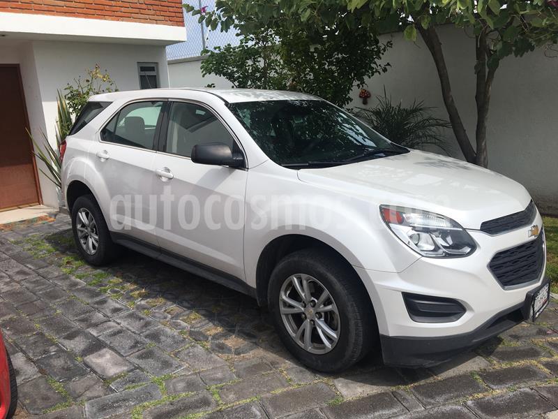 Chevrolet Equinox LS usado (2017) color Blanco precio $220,000