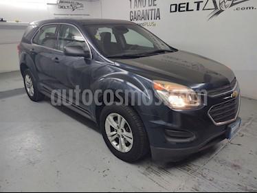 Chevrolet Equinox LS usado (2016) color Azul Atlanta precio $240,000