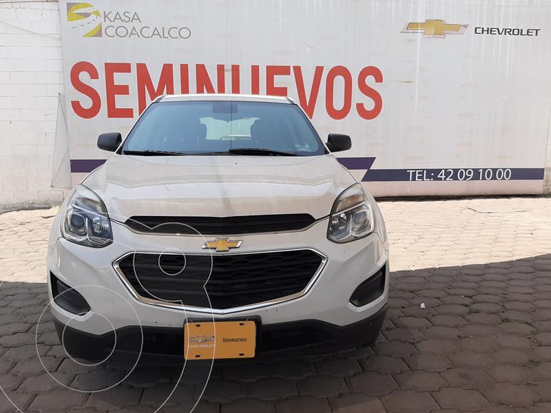 Foto Chevrolet Equinox LS usado (2017) color Blanco precio $240,000