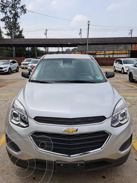 Foto Chevrolet Equinox LS usado (2017) color Plata Dorado precio $265,000