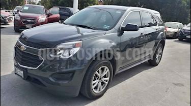 Chevrolet Equinox 5p LS L4/2.4 Aut usado (2017) color Gris precio $231,000