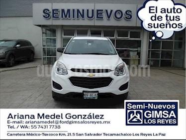 Chevrolet Equinox LS usado (2017) color Blanco precio $255,000