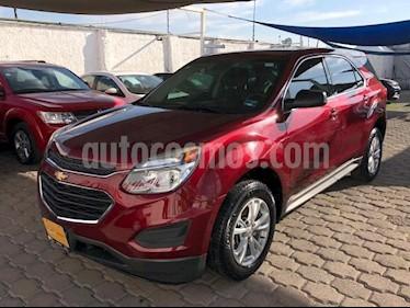Chevrolet Equinox 5P LS L4/2.4 AUT usado (2017) color Rojo precio $265,000