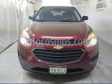 Chevrolet Equinox LT usado (2016) color Rojo Cerezo precio $235,000