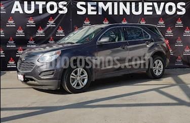 Chevrolet Equinox LT usado (2016) color Gris Oscuro precio $229,000