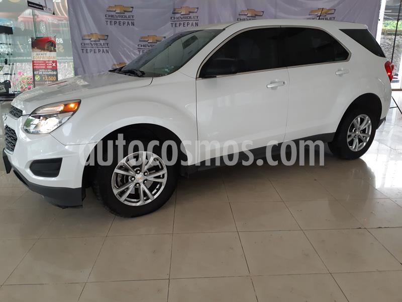 Chevrolet Equinox LS Paq. A usado (2017) color Blanco precio $250,000