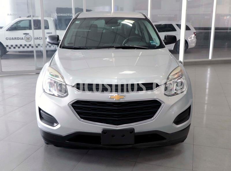Chevrolet Equinox LS usado (2016) color Plata Dorado precio $210,000