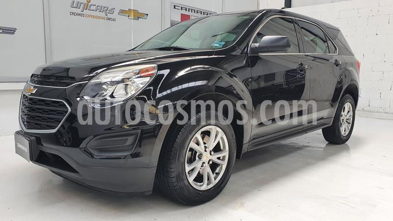 Chevrolet Equinox LS usado (2017) color Negro precio $260,000