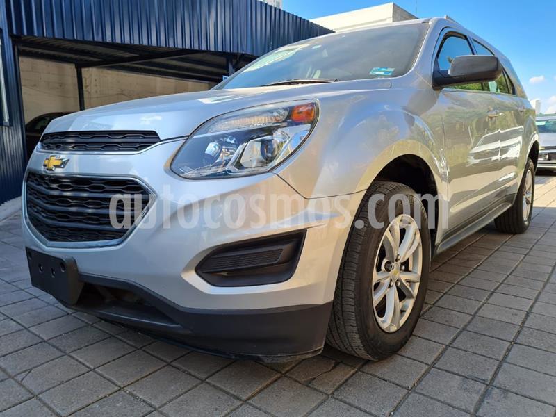 Chevrolet Equinox LS usado (2017) color Plata Dorado precio $285,000