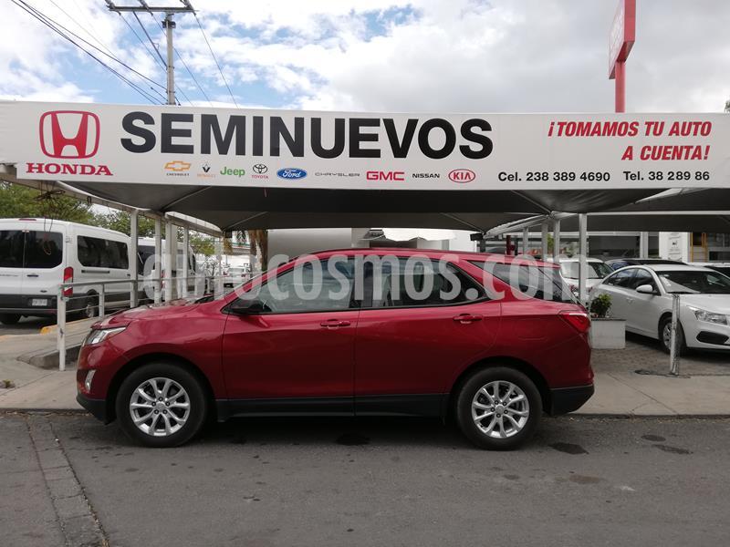 Chevrolet Equinox LS usado (2018) color Rojo precio $305,000