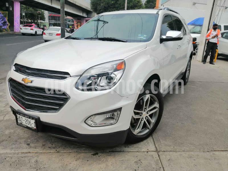 Chevrolet Equinox Premier usado (2017) color Blanco precio $299,000