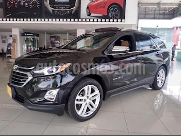 Chevrolet Equinox 5P PREMIER 1.5T TA PIEL TP F.LED RA-19 usado (2018) color Negro precio $370,000