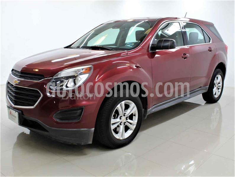 Chevrolet Equinox LS usado (2016) color Rojo precio $215,000