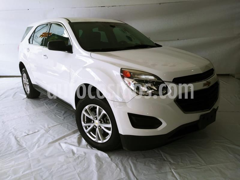 Chevrolet Equinox LT usado (2017) color Blanco precio $260,000