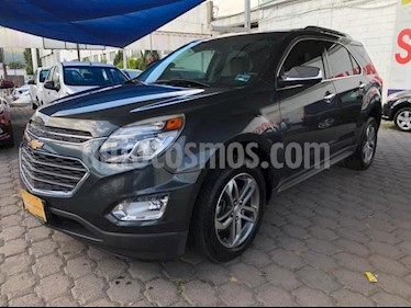 foto Chevrolet Equinox 5P LTZ L4 2.4L TA PIEL QC GPS RA-18 usado (2017) color Gris precio $345,000