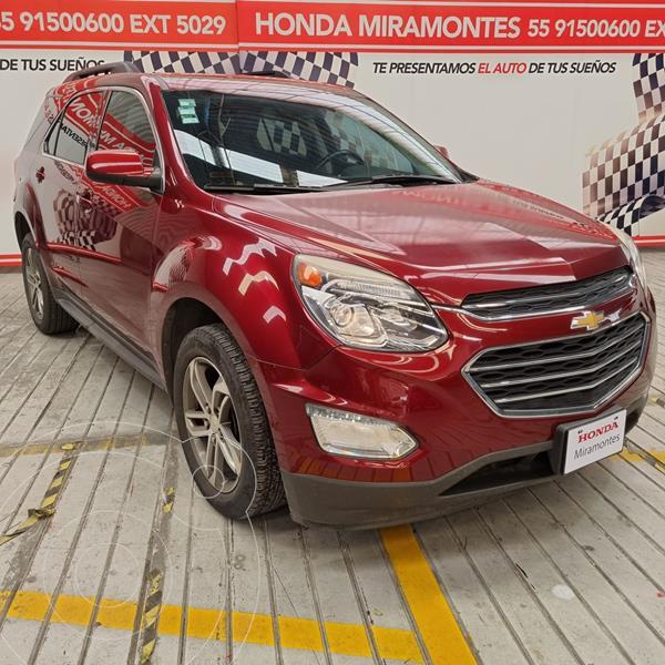 Foto Chevrolet Equinox LT usado (2017) color Rojo Cerezo financiado en mensualidades(enganche $77,500 mensualidades desde $6,259)