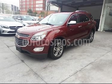 Chevrolet Equinox Premier Plus usado (2017) color Rojo precio $330,000