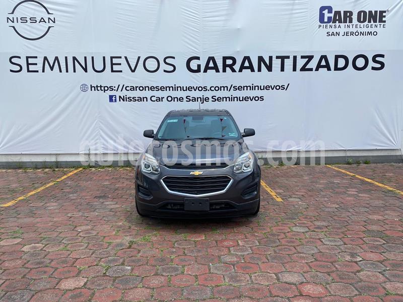 Chevrolet Equinox LS Paq. A usado (2016) color Gris Oscuro precio $219,900