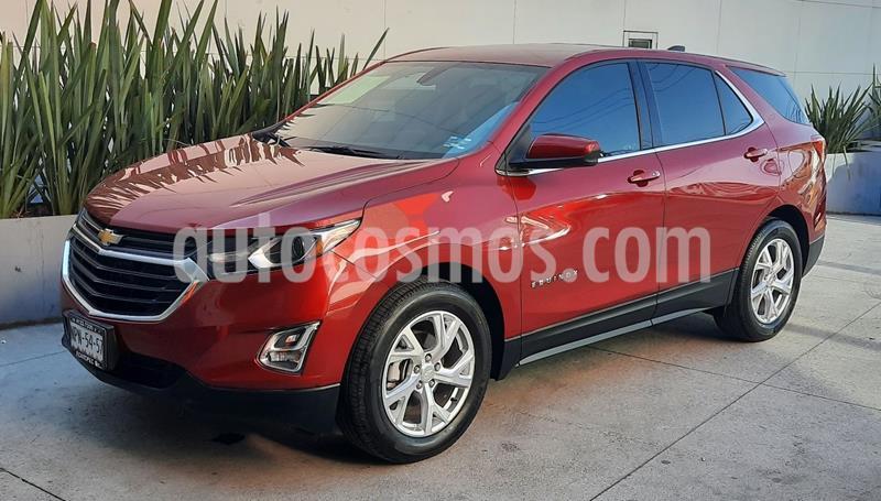Chevrolet Equinox LT usado (2020) color Rojo precio $458,000