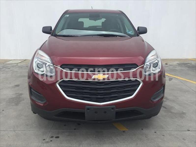 Chevrolet Equinox LS L4/2.4 AUT usado (2016) color Rojo precio $235,000