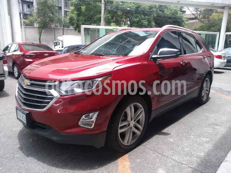Chevrolet Equinox Premier usado (2018) color Rojo precio $375,000