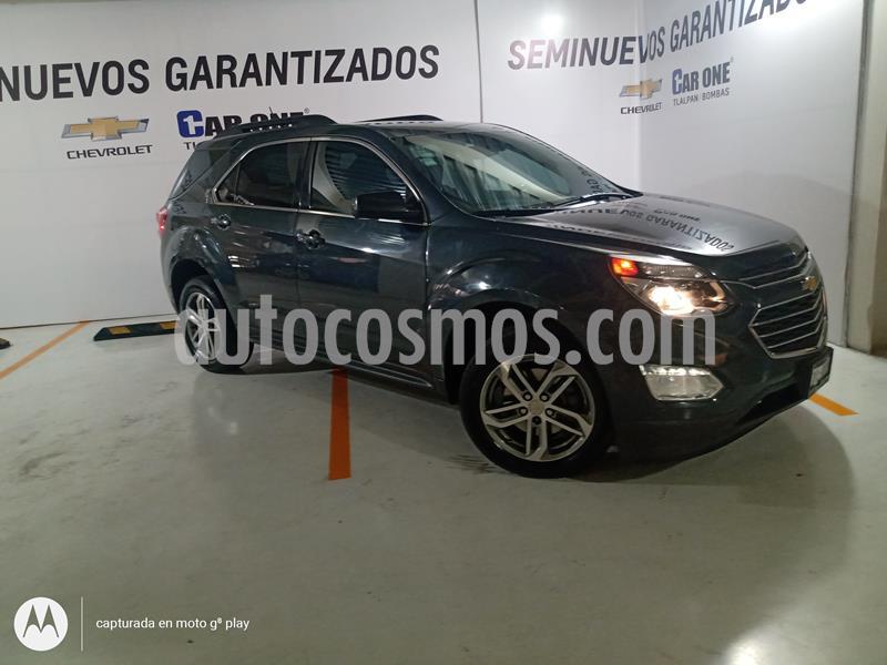 Chevrolet Equinox LT usado (2017) color Gris Carbono precio $253,000