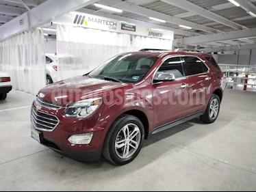 Chevrolet Equinox 5P LTZ L4/2.4 AUT usado (2016) color Rojo precio $260,000