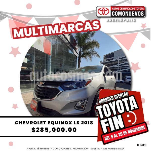 Chevrolet Equinox LT usado (2018) color Plata precio $285,000