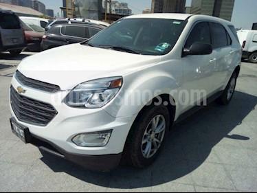 Chevrolet Equinox 5p LS L4/2.4 Aut usado (2017) color Blanco precio $245,000