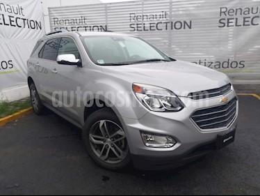 Chevrolet Equinox Premier usado (2017) color Plata Brillante precio $280,000