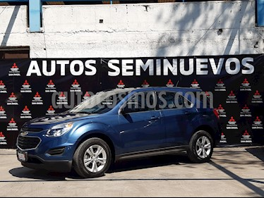 Chevrolet Equinox LT Paq. C usado (2016) color Azul Acero precio $227,000