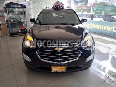 Chevrolet Equinox 5P LTZ L4 2.4L TA PIEL QC GPS RA-18 usado (2017) color Negro precio $310,000