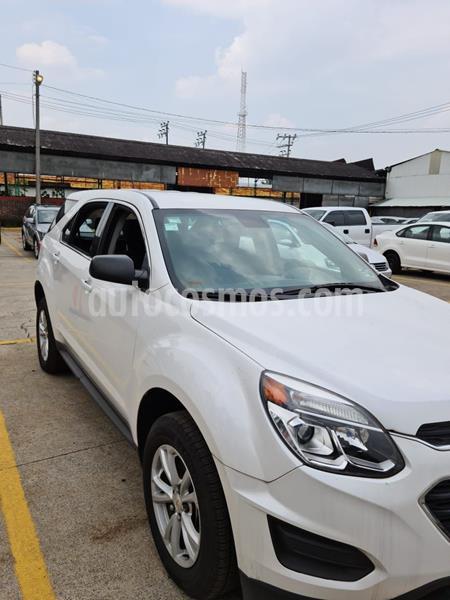 Chevrolet Equinox LS usado (2017) color Blanco precio $258,000