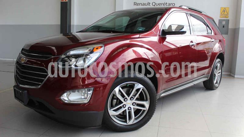 Chevrolet Equinox LTZ usado (2016) color Vino Tinto precio $255,000