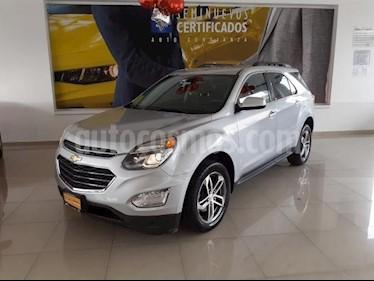 Chevrolet Equinox 5P LT L4 2.4L TA F. NIEBLA RA-18 usado (2017) color Plata precio $310,900