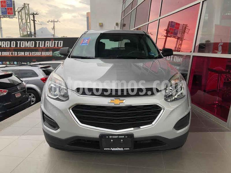 Chevrolet Equinox LS usado (2017) color Plata precio $249,000