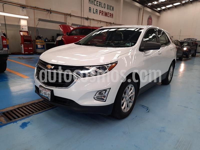 Foto Chevrolet Equinox LS usado (2018) color Blanco precio $330,000