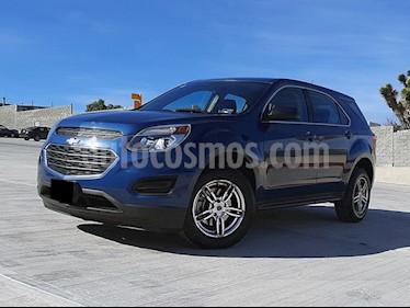 Chevrolet Equinox LS usado (2016) color Azul precio $268,000