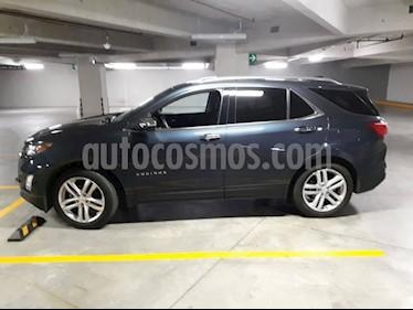 Chevrolet Equinox Premier Plus usado (2018) color Azul Acero precio $448,000