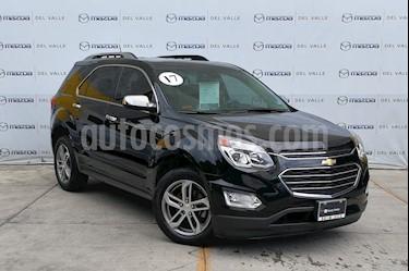 Foto venta Auto usado Chevrolet Equinox Premier (2017) color Negro precio $350,000