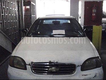 Foto venta carro usado Chevrolet Esteem Taxi L4 1.6i 16V (2001) color Blanco precio u$s800