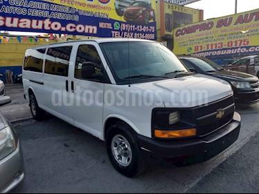 Chevrolet Express Passenger Van LS 15 pas 6.0L LWB usado (2016) color Blanco precio $335,000