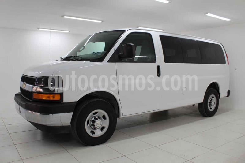 Chevrolet Express LS D 12 pas usado (2018) color Blanco precio $400,000