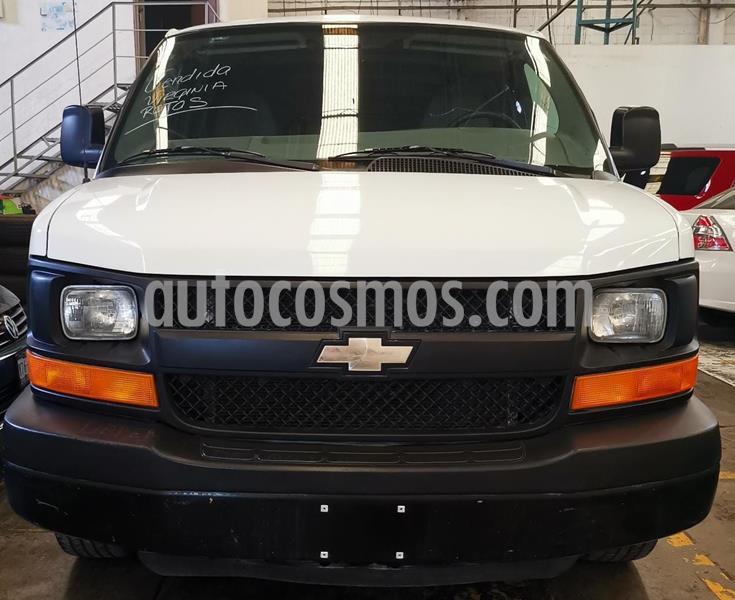 Chevrolet Express Cargo Van LS 4.3L usado (2014) color Blanco precio $215,000