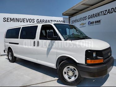 Chevrolet Express LS D 12 pas usado (2016) color Blanco precio $370,000
